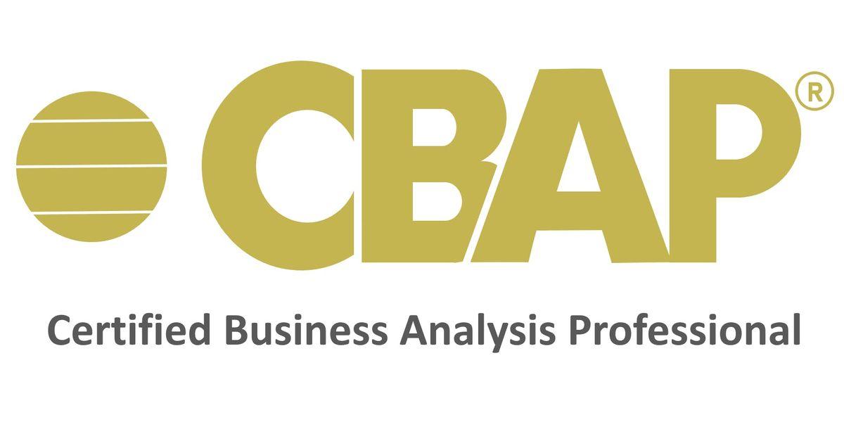 Business Analysis Certification Trainingsbusiness Analysis Traininngs